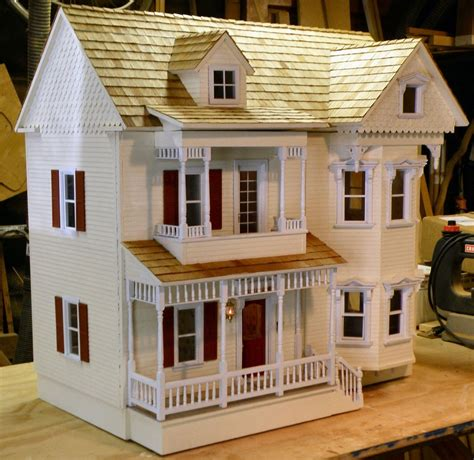 Handcrafted Dollhouse - crafted dollhouse restoration by rtw woodcraft
