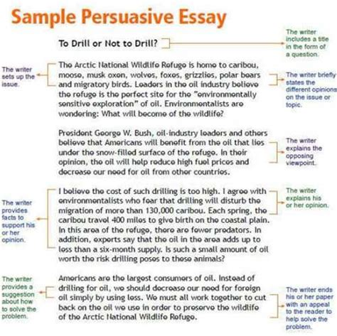 Persuasive Letter Introduction Exle Persuasive Essay Introduction Exle Related