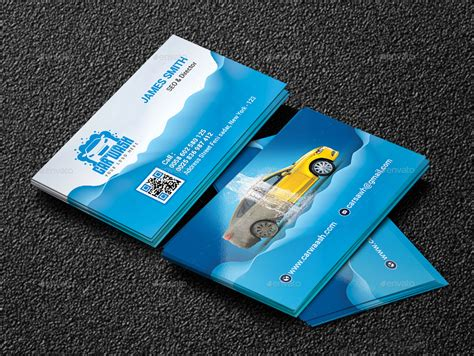 carwash business cards template car wash business cards business card design inspiration