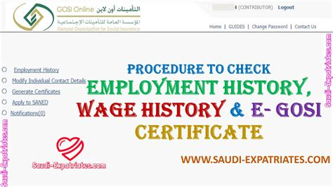 Search Employment History Check Your Employment Salary History In Ksa