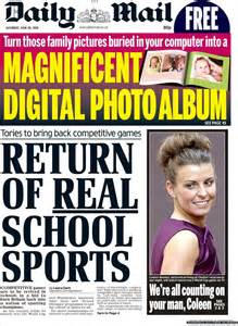 Daily Mail by Portada De Daily Mail United Kingdom Pictures To Pin On