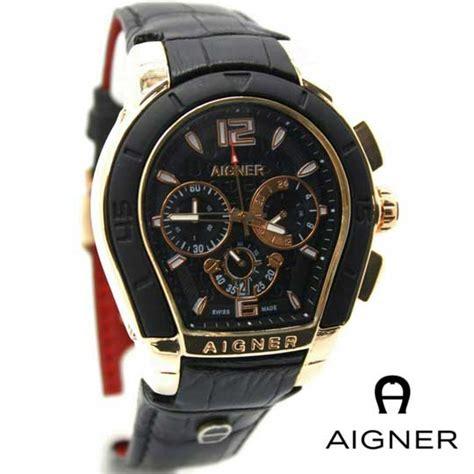 Aigner Bari Polos Kulit jam tangan aigner pria chrono iii