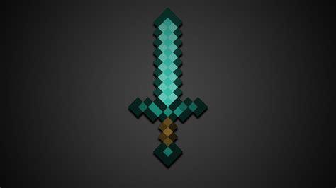 wallpaper craft in minecraft diamond sword hd wallpaper hd wallpaper of