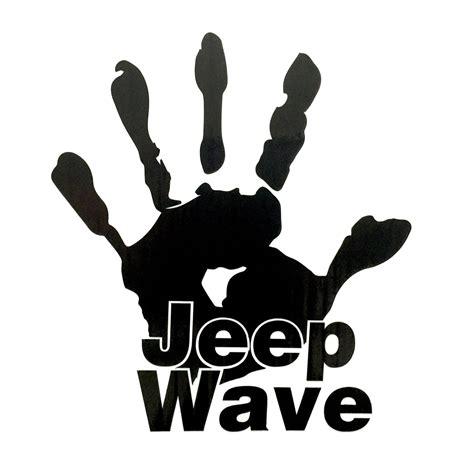 jeep wave sticker jeep wave decal jeepmafia