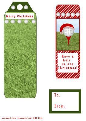 printable golf bookmarks golf tag bookmark cup156679 63 craftsuprint