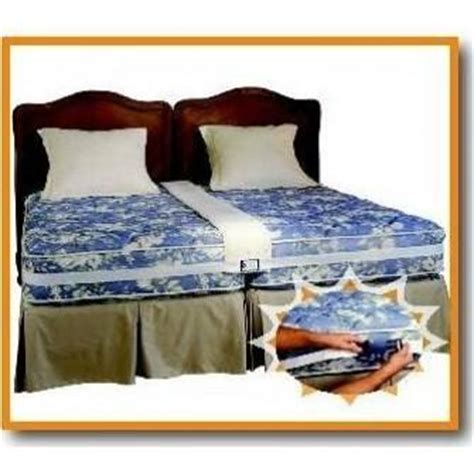two twin beds equal make any two twin beds into a comfortable king siz