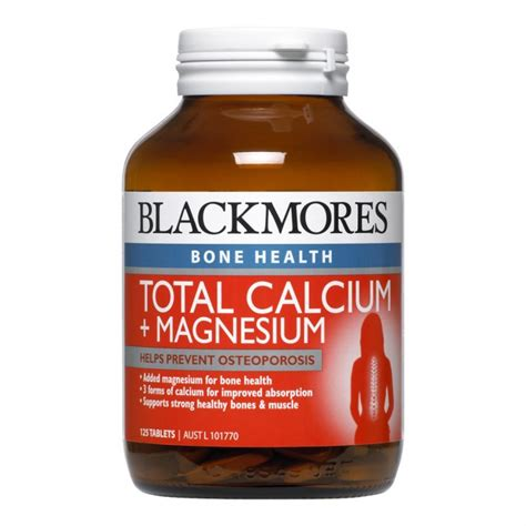 Review Total by Blackmores Total Calcium Magnesium Reviews