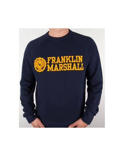 Jaket Zipper Hoodie Sweater Franklin Marshall Navy 1 franklin and marshall logo sweatshirt navy gold franklin marshall sweatshirt