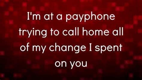 Clean Payphone Lyrics Clean