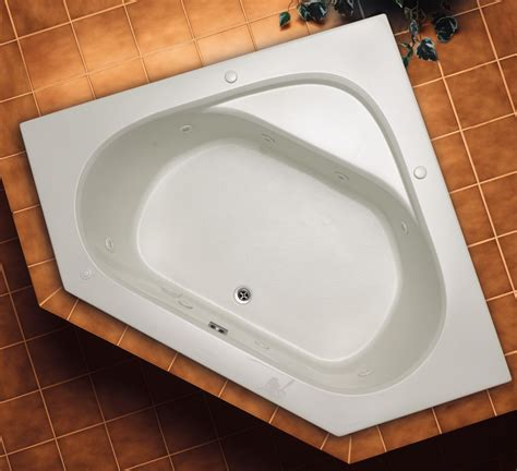bathtub canada quartz 60 x 60 corner air jetted bathtub hd6060eal in