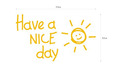 Home Decorating Items by Have A Nice Day Wall It