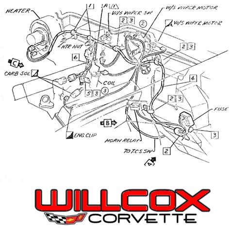 1972 corvette windshield wiper wiring diagram get free