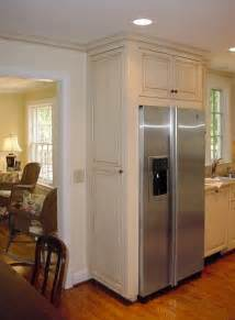 best 25 refrigerator cabinet ideas on kitchen