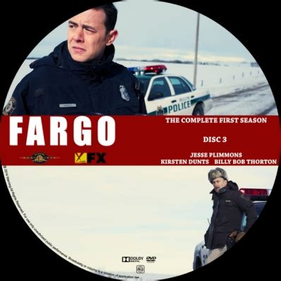 fargo season 1; disc 3 dvd covers & labels by covercity