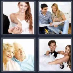 preguntas para una pareja de casados 4 fotos 1 palabra recien casados pareja de ancianos