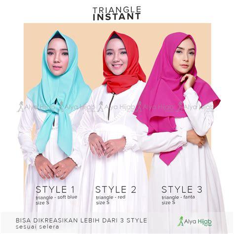 hijab tutorial jilbab segitiga alya hijab by naja jual hijab dan produsen hijab berkualitas