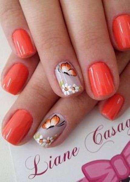 fiori unghie gel unghie gel estive le nail pi 249 foto bellezza