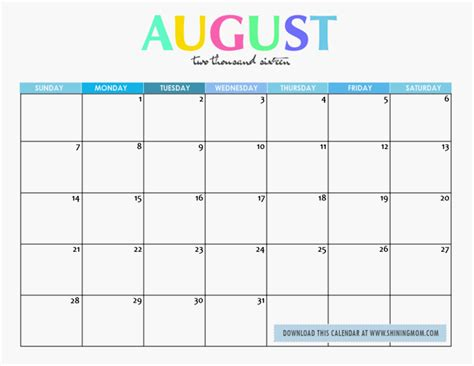 printable calendar 2017 november cute august 2017 calendar cute printable monthly calendar