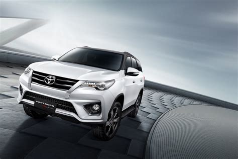 toyota company cars toyota fortuner gets trd treatment cars co za