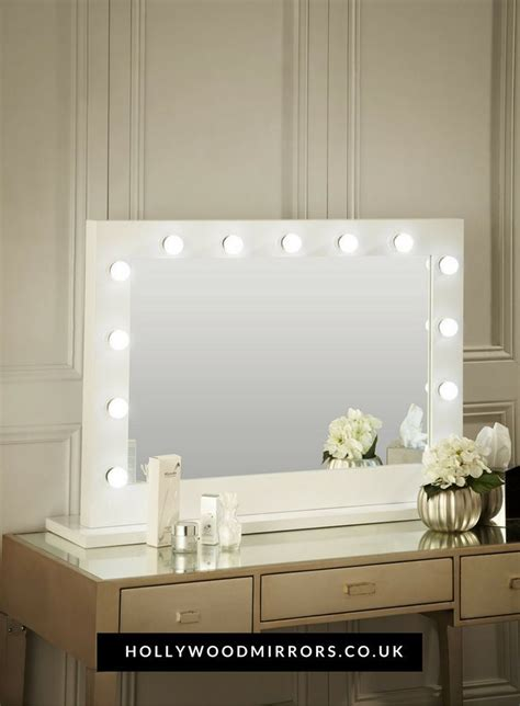 table mirror with lights 17 best ideas about white gloss dressing table on