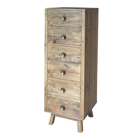 bedroom tall chest of drawers woodland rustic plank tall chest of drawers from curiosity