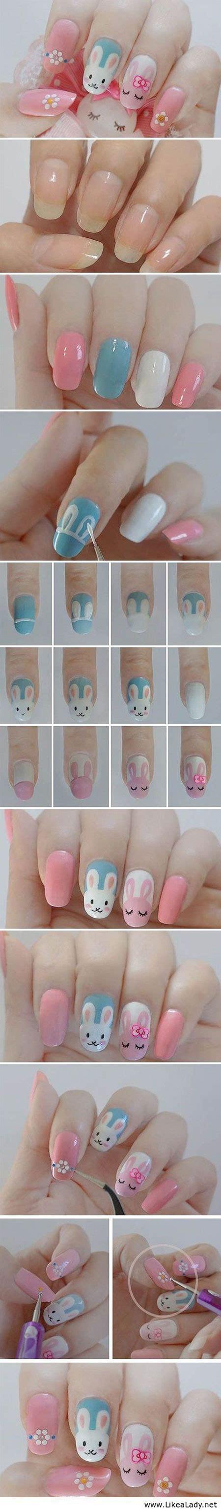 tutorial nail art elegant elegant easter nail art tutorials for beginners learners