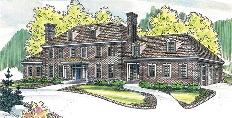 contemporary colonial house plans colonial style house plan with contemporary amenit