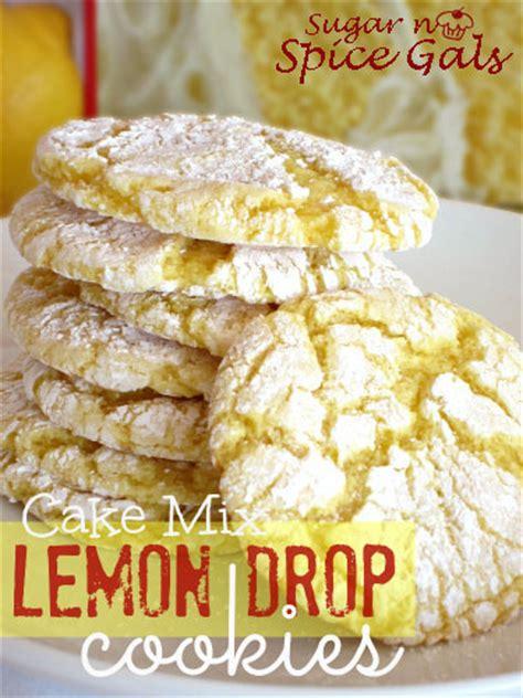 lemon drop mix lemon pudding cake mix cookies