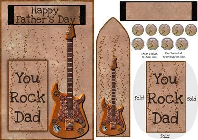 printable guitar bookmarks fathers day bookmark keepsake with guitar cup198604 1031
