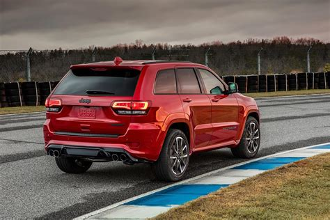 jeep trackhawk back 2018 jeep grand cherokee trackhawk is the most powerful