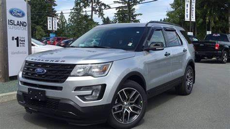 2016 explorer sport 2016 ford explorer sport nav moonroof review island