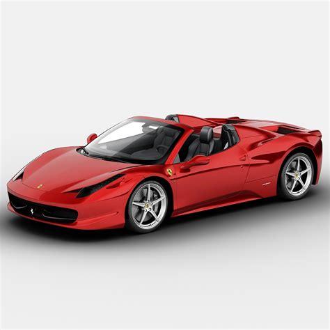 toy ferrari 458 3d ferrari 458 italia spider model