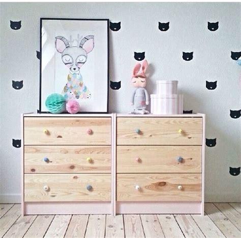 ikea nursery dresser hack mommo design ikea hacks for girls