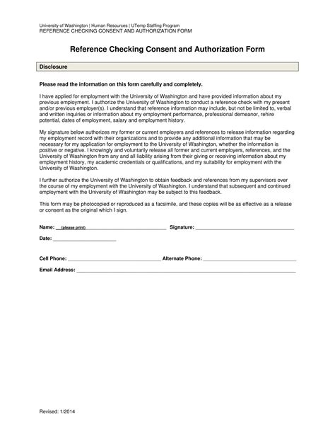 Release Letter Cite Hr 14 reference request and release forms free word pdf
