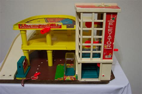 fisher price garage fisher price garage 1970s