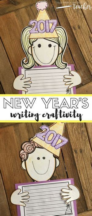 new year activities for elementary school happy new year writing craftivity elementary schools