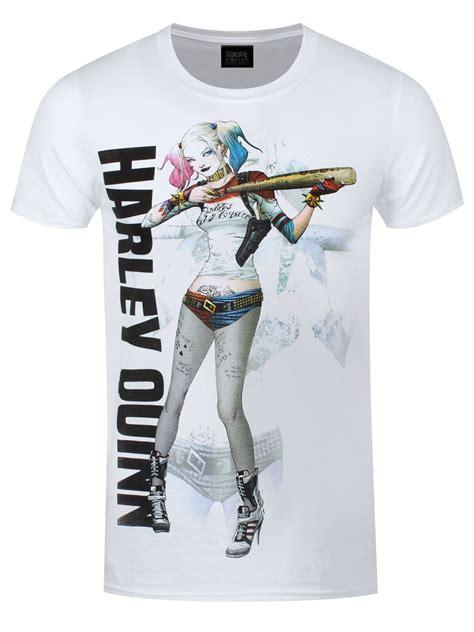 Sale Topi Baseball Squad Harley Quinn squad harley quinn baseball bat s white t shirt ebay