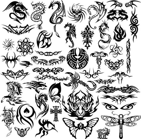 tribal tattoos templates tribal templates vector vector graphics