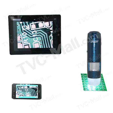 Wireless Digital Microscope Zoom 5x 1000x Koneksi Wifi Iphone Android s06w02 5x 200x wifi wireless usb digital microscope for windows ios android us tvc