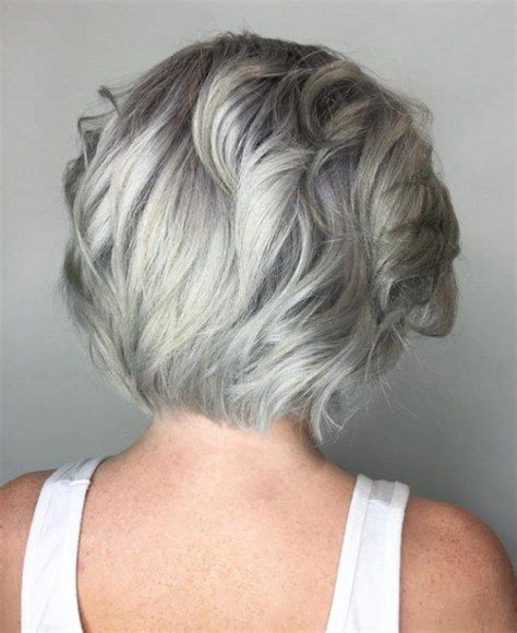 prominents gray hair 1825 best hairstyles for women over 40 images on pinterest