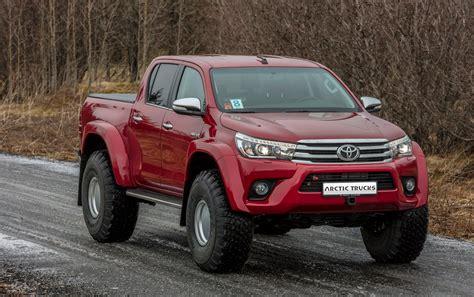 Frem Hilux 2012 2017 toyota hilux arctic trucks biler 4x4 toyota