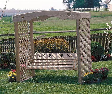 trellis swing furniture gt outdoor furniture gt swing gt arbor swing