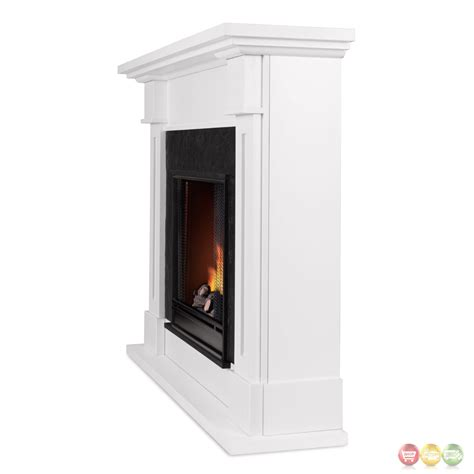 Ventless Fireplace Fuel by Kipling Ventless Gel Fuel Fireplace In White With Cast