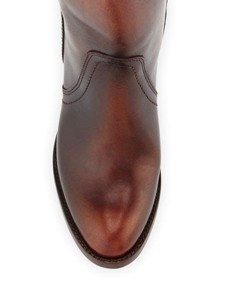 frye mustang boots frye mustang pull on boot redwood