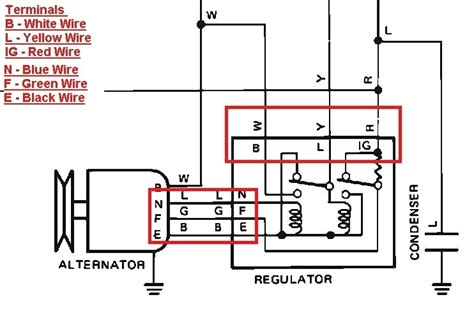toyota 4k alternator wiring diagram wiring diagram
