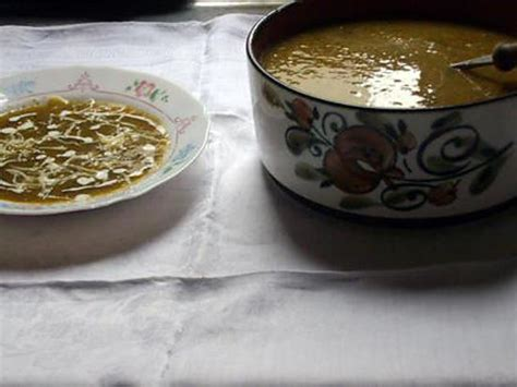 recette de potage aux l 233 gumes maison