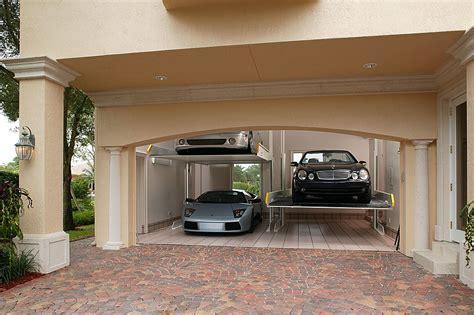 Two Car Garage Dimensions Turn A Two Car Garage Into A Four Car Garage With