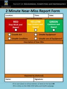 near miss report template near miss report sle best free home design idea