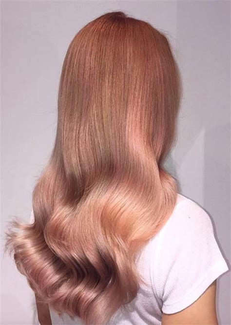 gold hair color 52 charming gold hair colors how to get gold