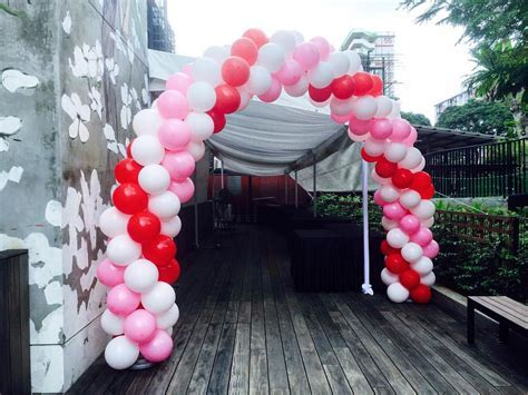 Premium Balloon Arch Decorations In Singapore   The
